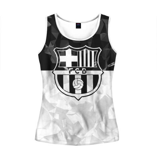 Женская майка 3D FC Barca Black Collection