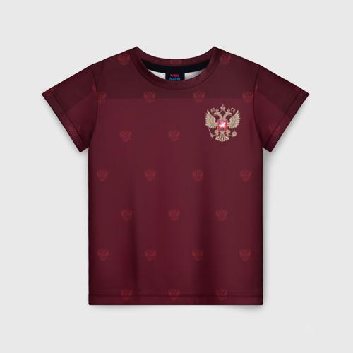 Детская футболка 3D Россия, форма