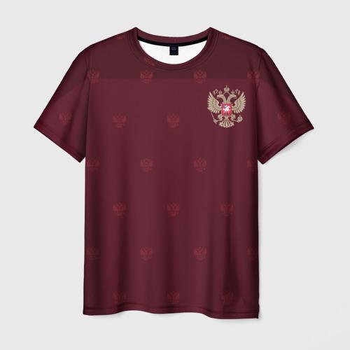 Мужская футболка 3D Россия, форма