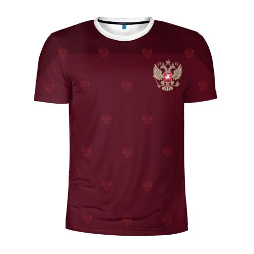 Мужская футболка 3D спортивная Россия, форма