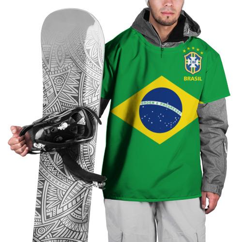 Накидка на куртку 3D Бразилия, форма
