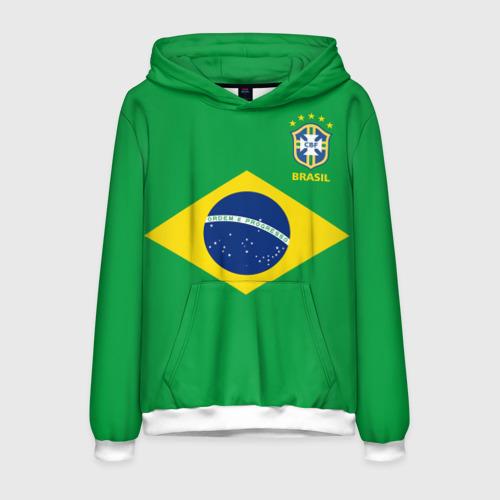 Мужская толстовка 3D Бразилия, форма