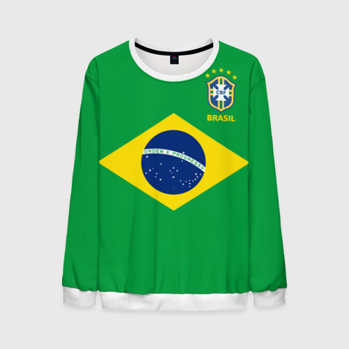 Мужской свитшот 3D Бразилия, форма