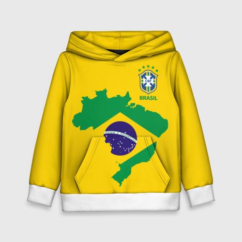 Детская толстовка 3D Бразилия, форма