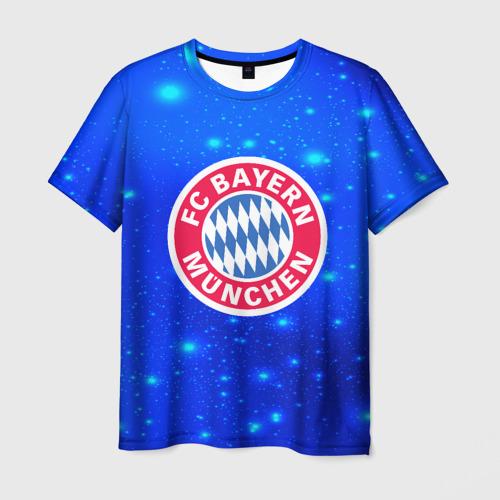 Мужская футболка 3D FC Bayern Munchen space 2018