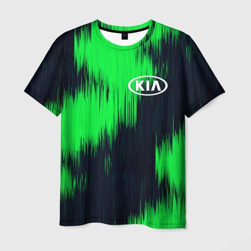 Мужская футболка 3D KIA sport collection