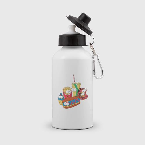 Бутылка спортивная Вкусные Симпсоны