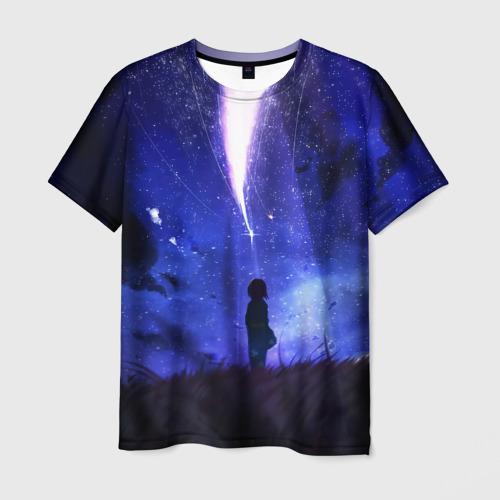 Мужская футболка 3D Твое Имя