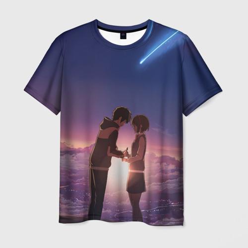 Мужская футболка 3D Sun