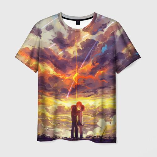 Мужская футболка 3D The End