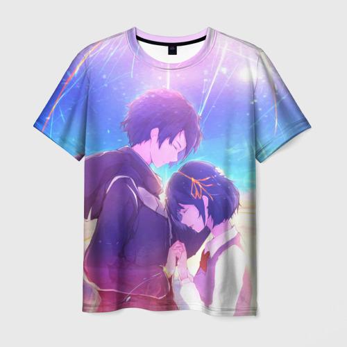 Мужская футболка 3D Anime