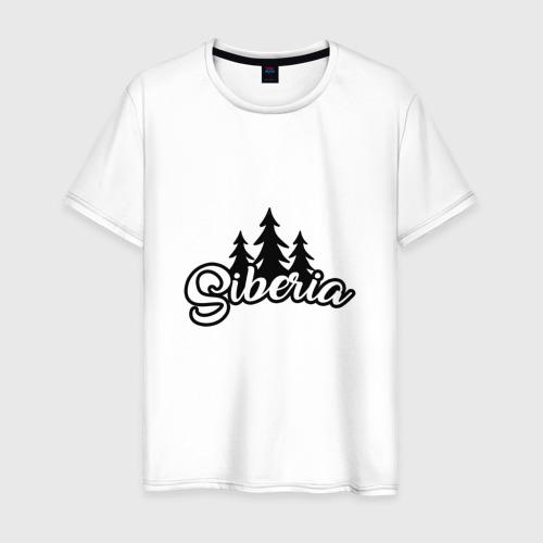Мужская футболка хлопок Сибирь