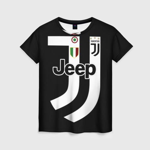Женская футболка 3D Juventus FIFA Edition