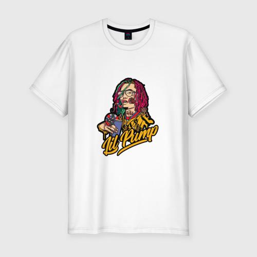 Мужская футболка премиум Lil Pump