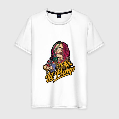 Мужская футболка хлопок Lil Pump