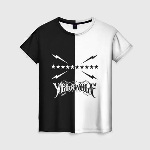 Женская футболка 3D Yelawolf