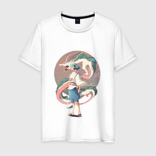 Мужская футболка хлопок Унесенные призраками_6