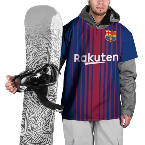 Накидка на куртку 3D Iniesta 17-18
