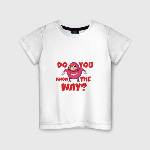 Детская футболка хлопок Уганда Наклз