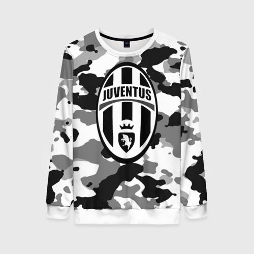 Женский свитшот 3D FC Juventus Camouflage
