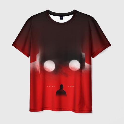 Мужская футболка 3D Хаски Крот