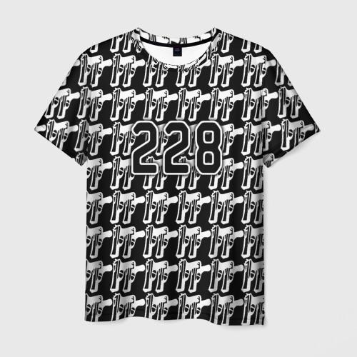 Мужская футболка 3D 228 пистолеты