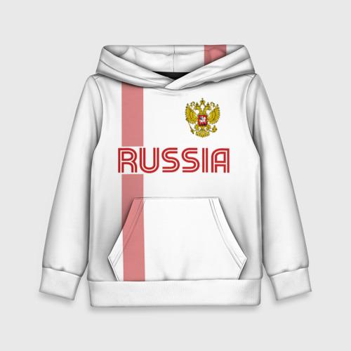 Детская толстовка 3D Россия