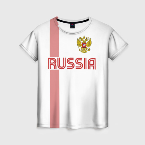 Женская футболка 3D Россия