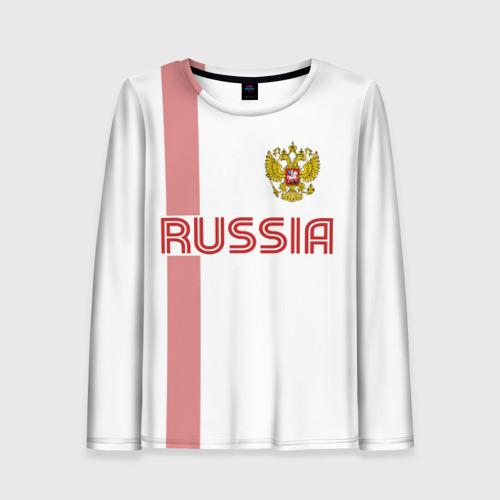 Женский лонгслив 3D Россия
