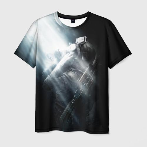 Мужская футболка 3D Metro 2033
