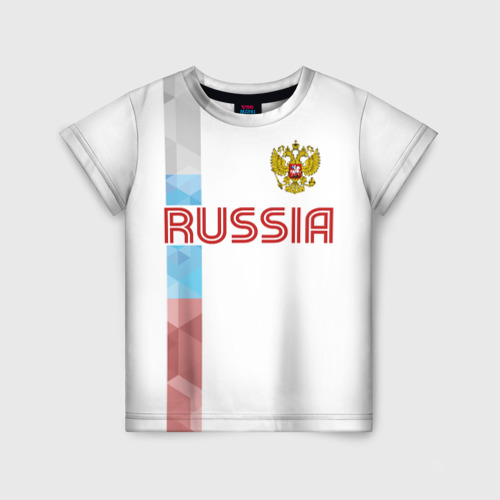 Детская футболка 3D RUSSIA