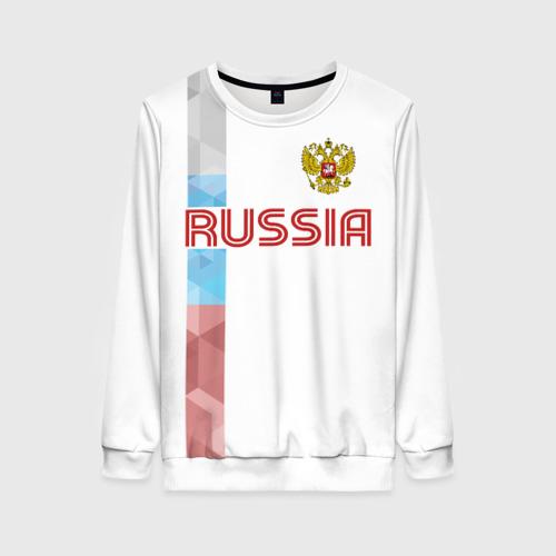 Женский свитшот 3D RUSSIA