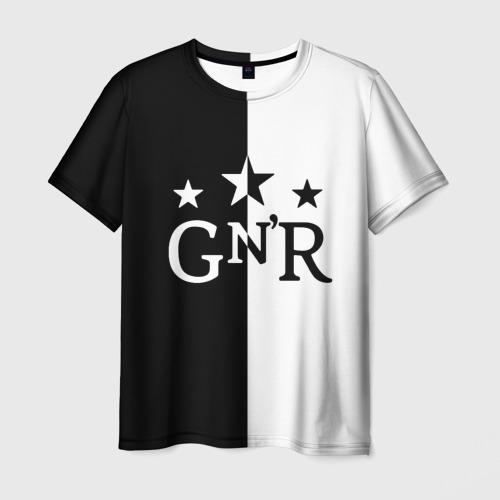 Мужская футболка 3D Guns-n-roses