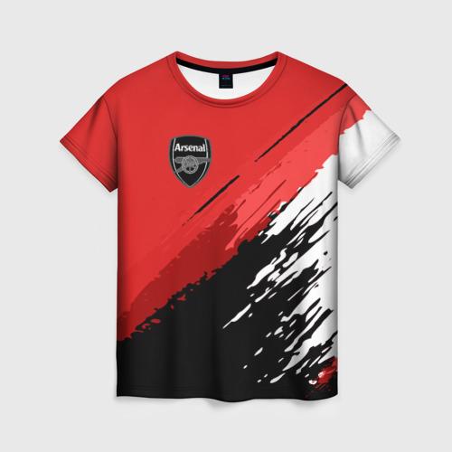 Женская футболка 3D Arsenal 2018 Original