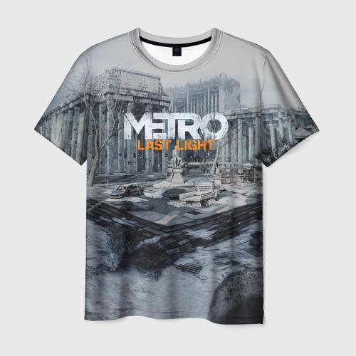 Мужская футболка 3D METRO Last Light