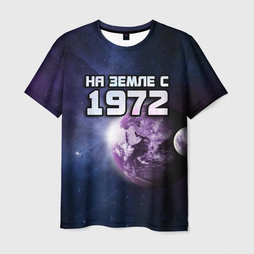 Мужская футболка 3D На земле с 1972