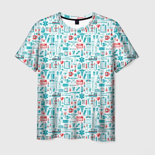 Мужская футболка 3D 36,6