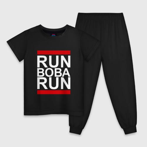 Детская пижама хлопок Run Вова Run