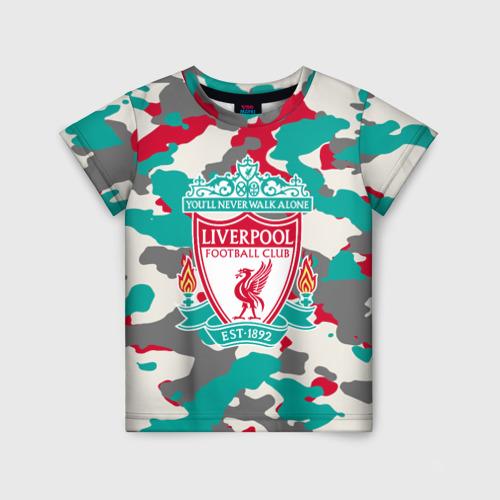 Детская футболка 3D FC Liverpool