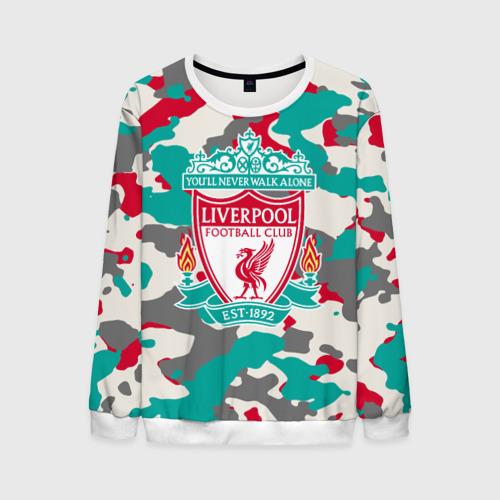 Мужской свитшот 3D FC Liverpool