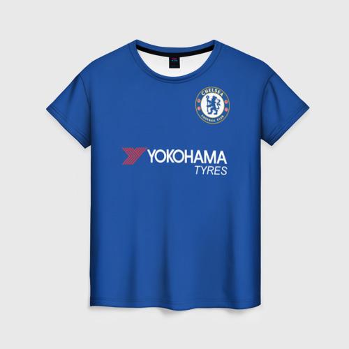 Женская футболка 3D Форма Дидье Дрогба