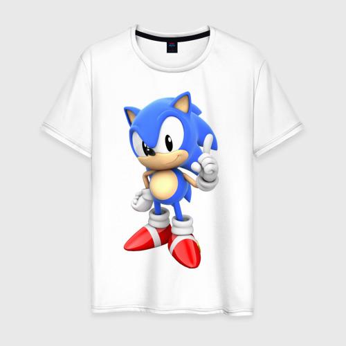 Мужская футболка хлопок Classic Sonic