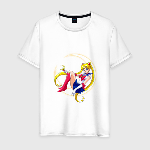 Мужская футболка хлопок Sailor Moon