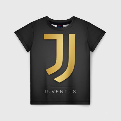 Детская футболка 3D Juventus Gold Edition