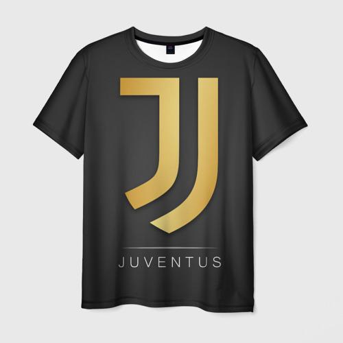 Мужская футболка 3D Juventus Gold Edition