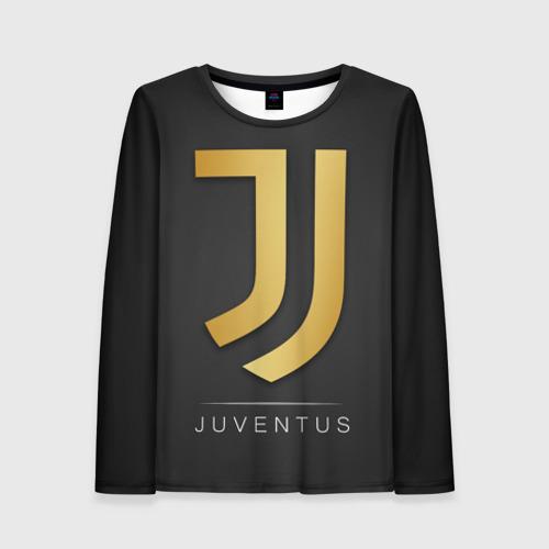 Женский лонгслив 3D Juventus Gold Edition