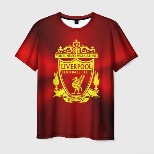 Мужская футболка 3D ФК Ливерпуль