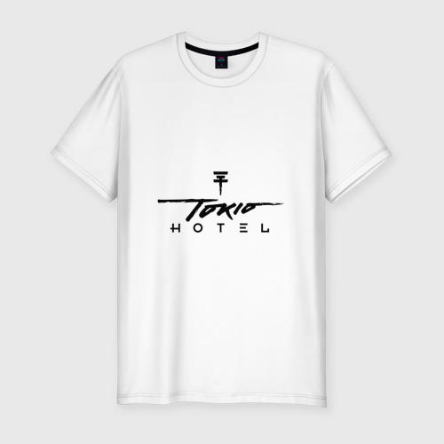 Мужская футболка хлопок Slim Tokio Hotel