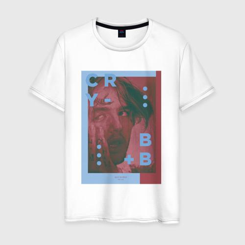 Мужская футболка хлопок Cry baby