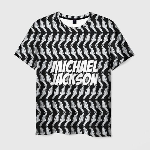Мужская футболка 3D Michael Jackson